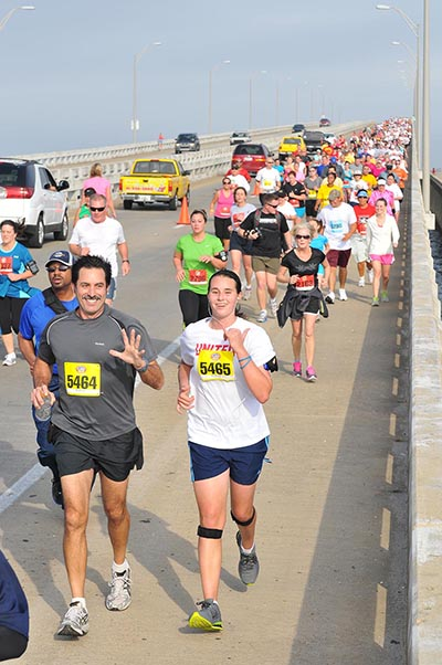 Pensacola Double Bridge Run - February 13, 2016