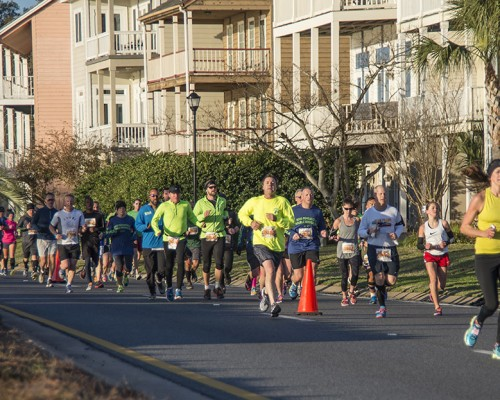 Double Bridge Run Race Day, Saturday Feb. 7, 2015 Pensacola, FL.