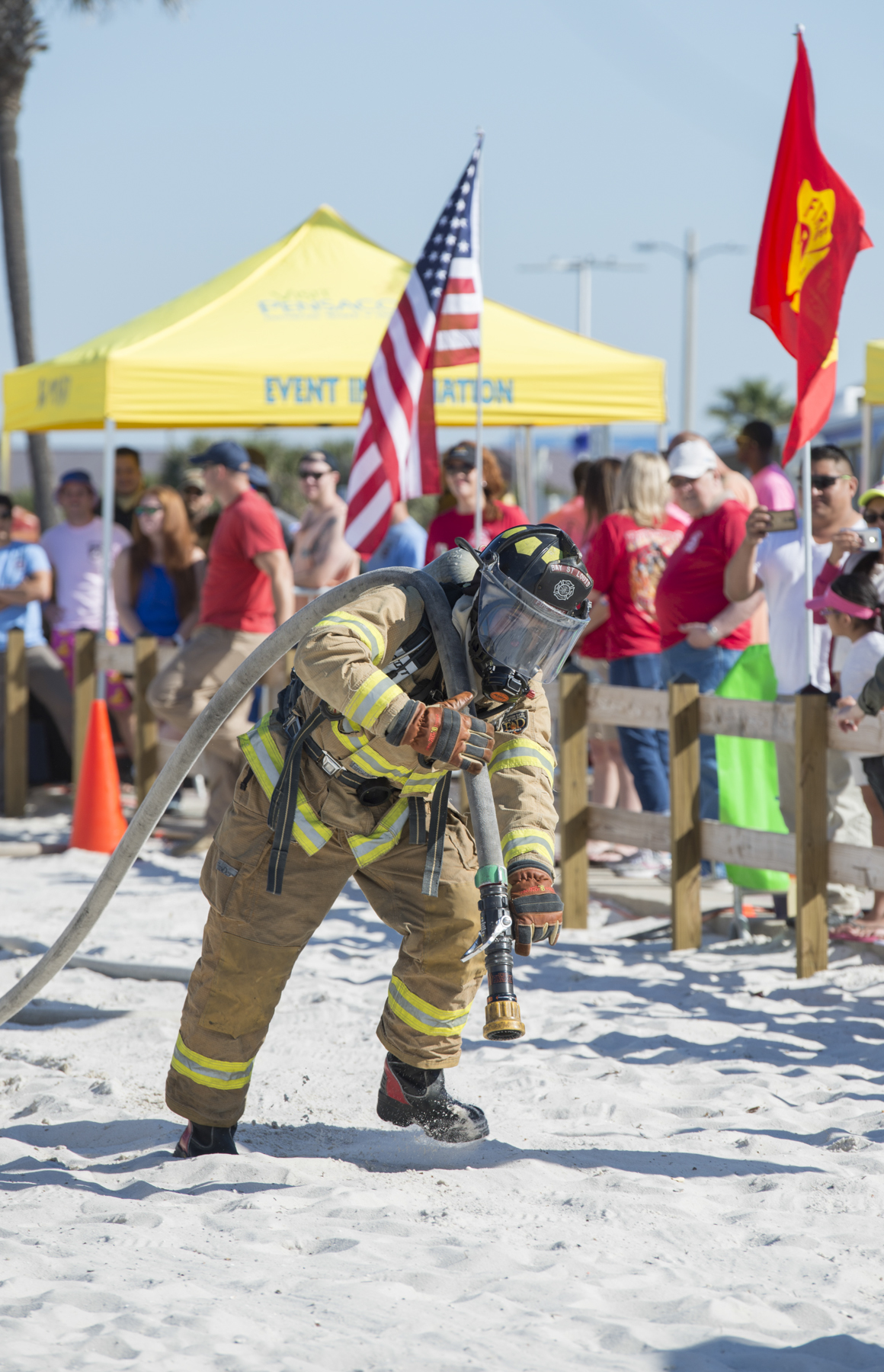 Pensacola Beach Firefighter Challenge 2017.  April 8, 2017.